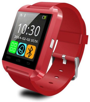 Hari Krishna Enterprise HK1008 Smartwatch(Red Strap Regular)