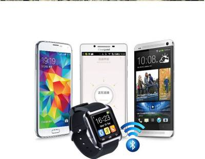 Empreus crt Black Smartwatch (Black Strap)