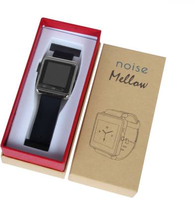 Noise Mellow Smartwatch (Black Strap)