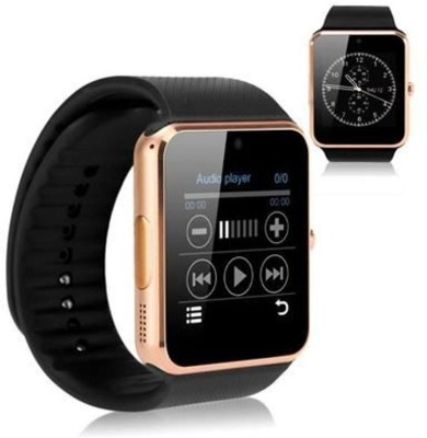 OUTSMART AP04 with Fitness Tracker,Bluetooth, Sim Card and Memory Card Slot Smartwatch(Black Strap Regular)