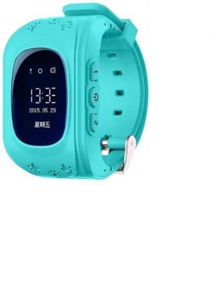 Shrih Kids Tracker Smart Wrist Watch with GPS And GSM System Smartwatch(Blue Strap Large) at flipkart