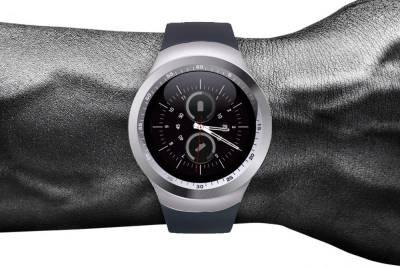 Shan Samsung Duos Silver Smartwatch