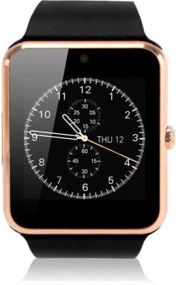VibeX ® GT-08 Sport GSM Phone Black, Gold, Silver Smartwatch(Black Strap Regular) at flipkart