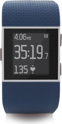 Fitbit Surge Blue Smartwatch(Blue Strap Small) at flipkart