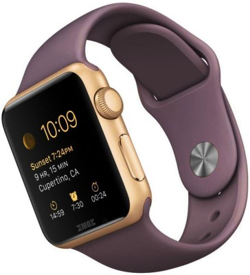 Wokit A1-299 Golden Smartwatch(Brown Strap Regular)  available at flipkart for Rs.2999