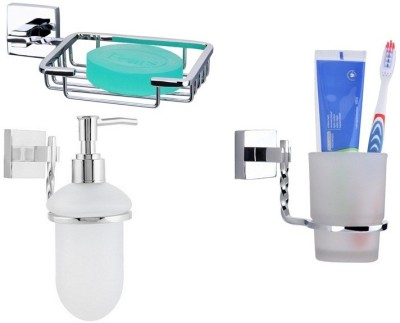 Homedecorhd soap case, Tooth Brush Holder(Metalic, Glossy)