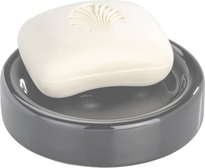 Home Collective - Wenko Ceramic Soap Dish Polaris Grey(Grey)