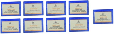 Khadi Pure Natural Handmade Pure Lavender Soap with essential Oil(1125 g, Pack of 9)  available at flipkart for Rs.575