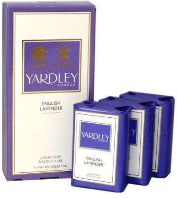 Yardley London of London English Lavender 3 Luxury Soap(300 g)  available at flipkart for Rs.2152
