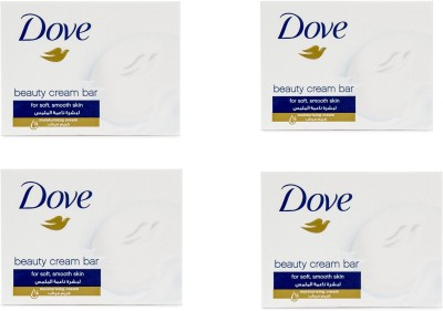 Dove Original Beauty Cream Bar Imported Version ( Pack of 4) 100g Each(400 g)