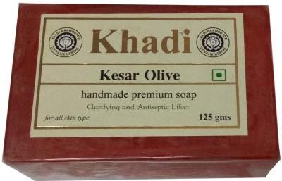 Khadi Herbal Keshar Olive Soap(125 g)