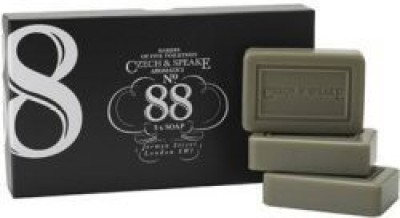 Czech & Speake No 88 Soap Triple Pack (3)(75 g, Pack of 3)  available at flipkart for Rs.6470