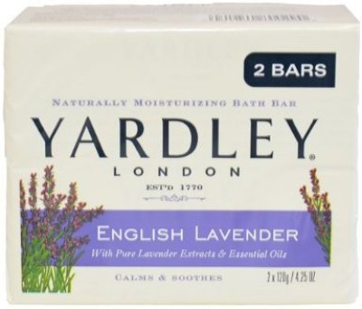 Yardley London Bar Soap English Lavender 2 Count(120 g)  available at flipkart for Rs.1317