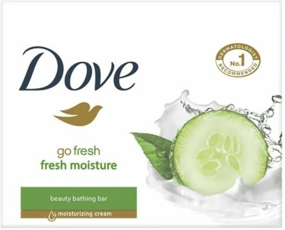 Dove Fresh Moisture Soap(210 g, Pack of 3)