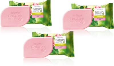 Oriflame Sweden Nature Secrets Soap Bar With Soothing Rose(75 g, Pack of 3)  available at flipkart for Rs.125