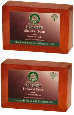 Khadi Herbal NaturalShikakai soap(250 g, Pack of 2)