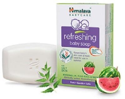 Himalaya Refreshing Baby Soap, 125 GM (Pack of 5)