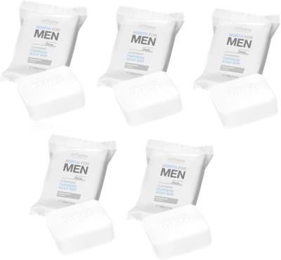 Oriflame Sweden North For Men Cleansing Fairness Soap Bar(5 x 100 g)