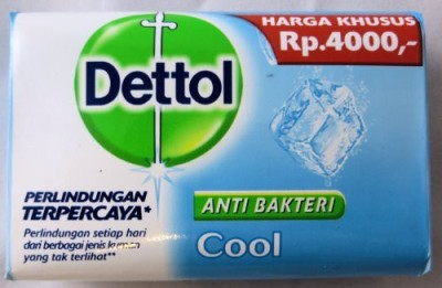 Dettol Cool Anti-Bacterial Hand And Body Bar Soap (110GM, Pack of 12)