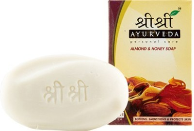 Sri Sri Ayurveda Almond Honey Soap(100 g)  available at flipkart for Rs.33