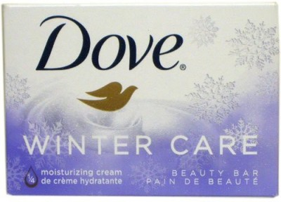 Dove Bar Soap Winter Care (8 Pack)(120 ml, Pack of 8)