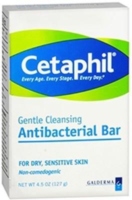 Cetaphil Antibacterial Gentle Cleansing Bar(135 ml)