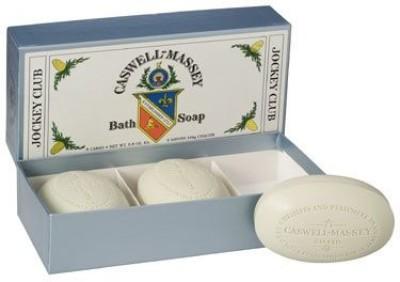Caswell Massey Jockey Club Bath Soap Set(40 g, Pack of 3)
