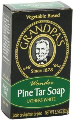 Grandpa's Pine Tar Bar Soap pack of - 3(92 g) at flipkart
