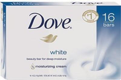 Dove Bar Soap White(120 ml, Pack of 16)