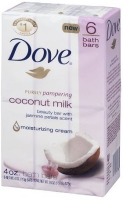Dove Purely Pampering Bath Bars(113 g, Pack of 6)