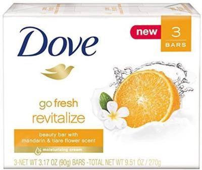 Dove go fresh Bar Revitalize 3 Bar(270 g, Pack of 3)