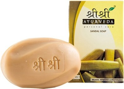 Sri Sri Ayurveda Sandal Soap(100 g)  available at flipkart for Rs.33