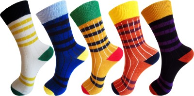 Rc. Royal Class Baby Boys Striped Crew Length Socks