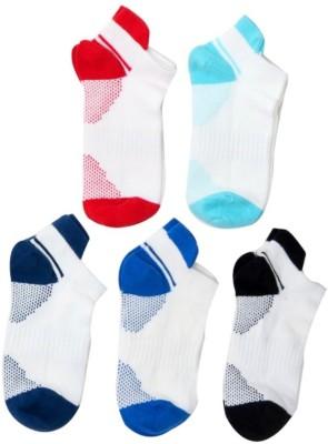 Neska Moda Boys & Girls Polka Print Ankle Length Socks(Pack of 5)