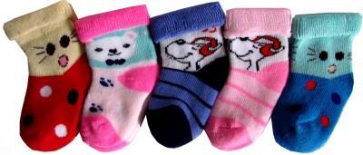 Rc. Royal Class Baby Boys Self Design Crew Length Socks