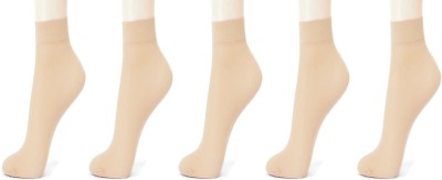 Alexa India Women Animal Print Ankle Length(Pack of 5) at flipkart