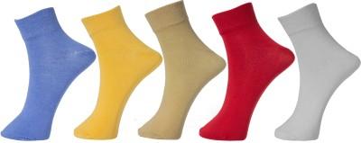 Tadd Women Solid Ankle Length Tadd Men's and Women's Socks