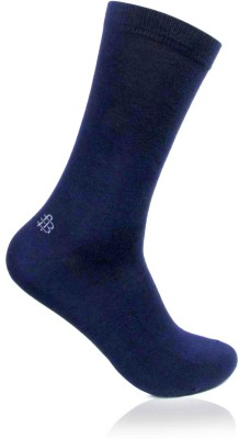 Bonjour Men's Solid Crew Length Socks  available at flipkart for Rs.215