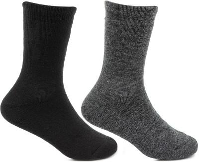Bonjour Boys Solid Mid Calf/Crew Bonjour Kids' Socks
