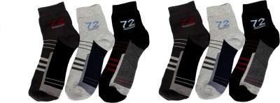 Super Deal Bazzar Store Men's Printed Ankle Length Socks