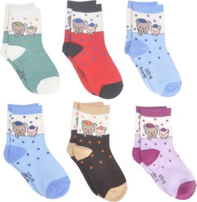 Kandy Floss Baby Boys Ankle Length Socks