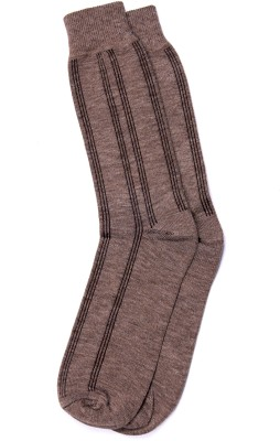 Graceway Men's Self Design Knee Length Socks