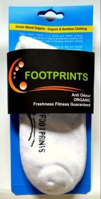 Footprints Men's Solid Ankle Length Socks