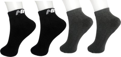 NB Women Solid Ankle Length(Pack of 4) at flipkart