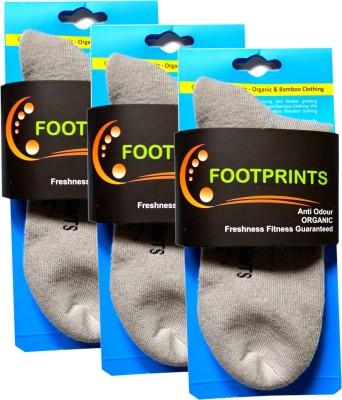 Footprints Women's Solid Ankle Length Socks