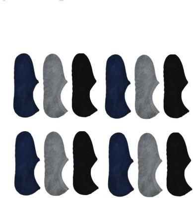 Killys Men's Solid No Show Socks