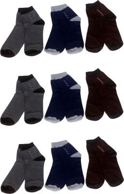 Super Deal Bazzar Store Men's Solid Ankle Length Socks