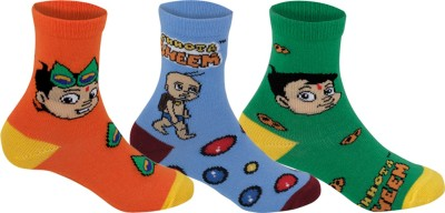 Supersox Baby Boys Self Design Crew Length Socks