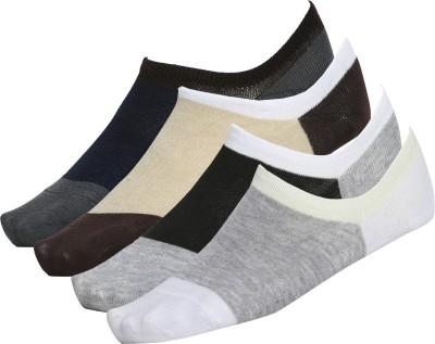 Voile Men's Solid No Show Socks