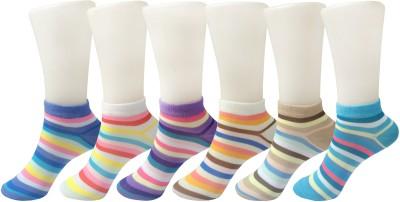 Jack & Ginni Women Self Design Ankle Length(Pack of 2) at flipkart